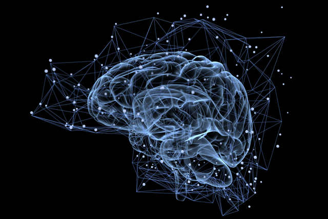 researchers use neural network algorithms for more accurate brain scans stock photo