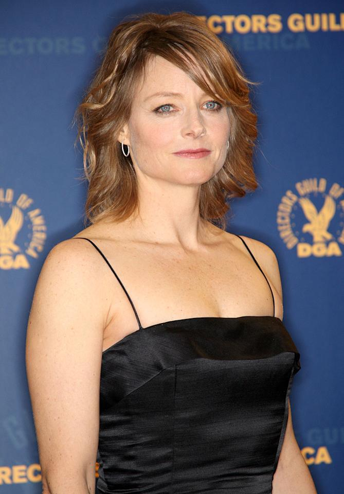 """<a href=""""http://movies.yahoo.com/movie/contributor/1800012541"""">Jodie Foster</a> at the 61st Annual Directors Guild of America Awards in Los Angeles - 01/31/2009"""