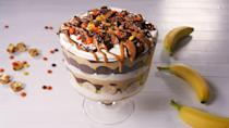 """<p>No shortage of Reese's here.</p><p>Get the recipe from <a href=""""https://www.delish.com/cooking/recipe-ideas/a20721273/reeses-banana-pudding-recipe/"""" rel=""""nofollow noopener"""" target=""""_blank"""" data-ylk=""""slk:Delish."""" class=""""link rapid-noclick-resp"""">Delish.</a></p>"""
