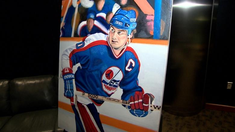 Homeless to Hall of Fame: Artist commissioned to paint Winnipeg Jets portraits