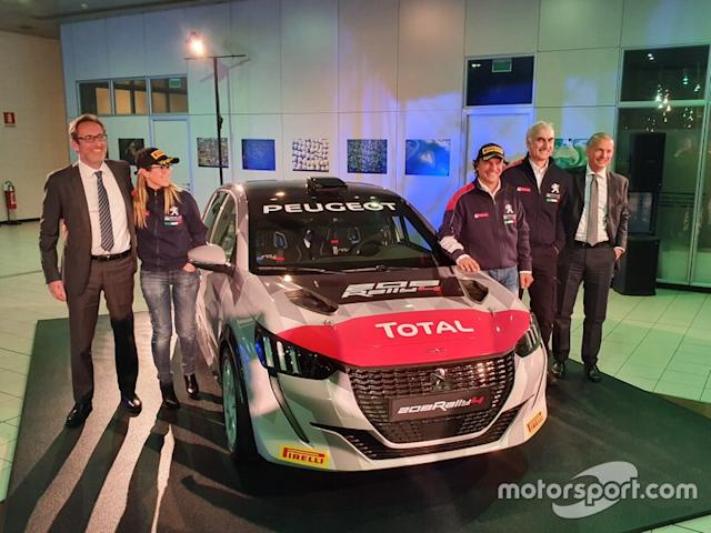 """Paolo Andreucci, Anna Andreussi, Peugeot 208 Rally4 <span class=""""copyright"""">Giacomo Rauli</span>"""