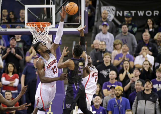 Ayton isn't an elite shot-blocker, but he averages nearly two per game, and has been ferocious on the help side. (AP)