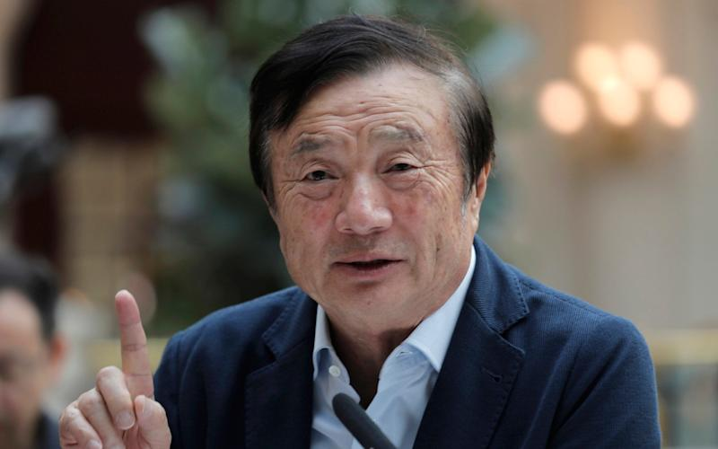 Huawei's chief executive Ren Zhengfei - AP