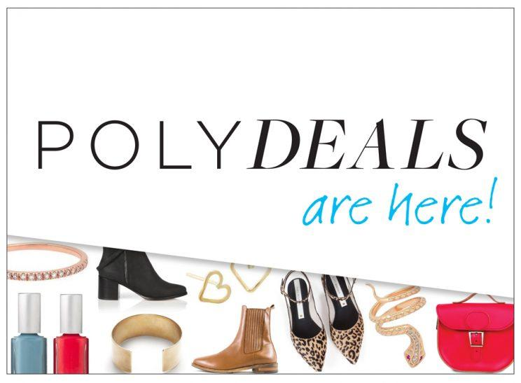 Check Polyvore each day for a brand-new PolyDeal for 50% off your favorite brands.