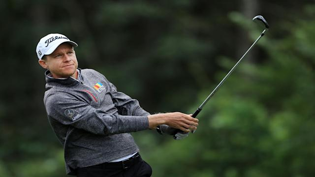 Peter Malnati defied the conditions to make his move on day two of the Houston Open in Texas.