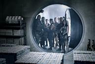 """<p>Zack Snyder's return to the zombie genre <a href=""""https://www.popsugar.com/entertainment/army-of-the-dead-netflix-trailer-48184582"""" class=""""link rapid-noclick-resp"""" rel=""""nofollow noopener"""" target=""""_blank"""" data-ylk=""""slk:is sure to be a wild one"""">is sure to be a wild one</a>. Starring Dave Bautista, Ella Purnell, Omari Hardwick, and Tig Notaro, the film follows a group of mercenaries as they head to Vegas after a zombie outbreak to pull off the heist of a lifetime.</p> <p><strong>When it's available: </strong><a href=""""https://www.netflix.com/title/81046394"""" class=""""link rapid-noclick-resp"""" rel=""""nofollow noopener"""" target=""""_blank"""" data-ylk=""""slk:May 21"""">May 21</a></p>"""