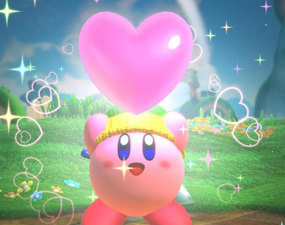 He's round, he's pink, he's cute as heck, but most of all, he's going to eat you.