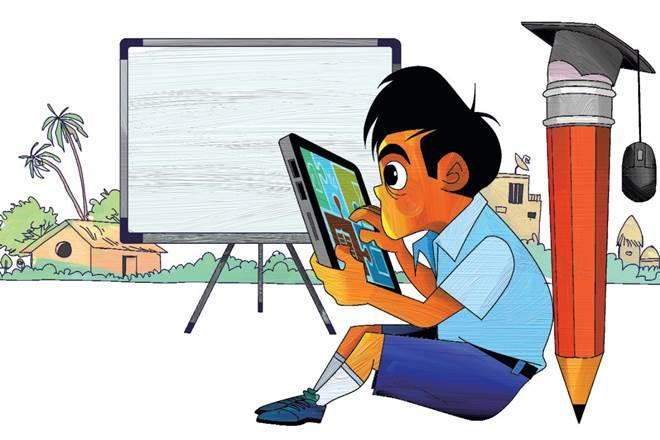 Right to Education Act, india,grade-2 text,grade of education,rural India,primary education,foundation years,middle school,higher education