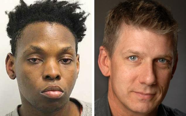 Gerald Matovu, 26, killed Eric Michels, 52, after meeting him on Grindr