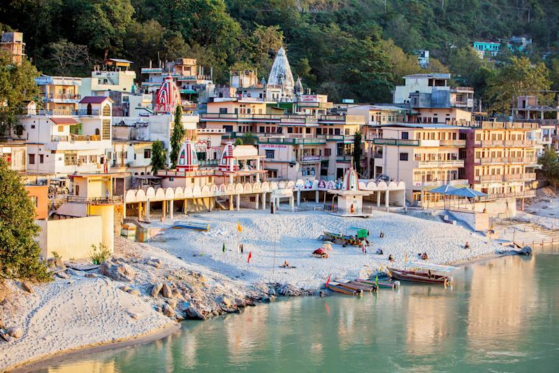 Up in the Himalayan foothills, Rishikesh became world-famous thanks to the Beatles' stay - Himanshu Khagta