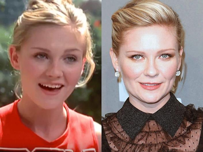 bring it on then and nnow kristen dunst
