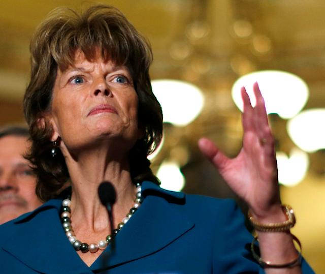 """Sen. Lisa Murkowski (R-Alaska) said Tuesday that she can go back to her constituents and say, """"OK, let's walk through this together."""""""