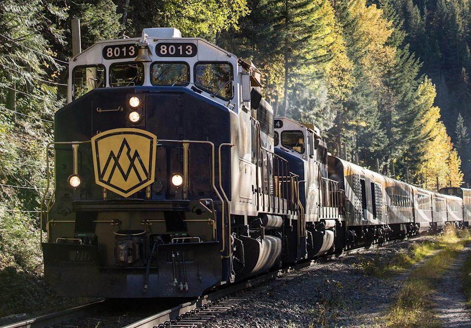<p>For 2021, a ride on the Rocky Mountaineer will look a little different following the Covid-19 pandemic. You can expect quick, seamless check-in, as well as a temperature check each day and you'll travel with the same group. </p><p>There will be distancing on board, but also thorough sanitisation and the constant circulation of fresh air with filters that capture 99.9% of airborne particles.</p>