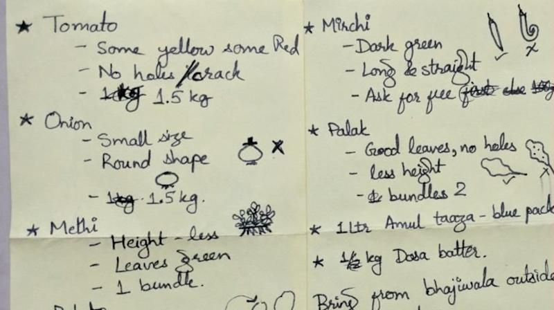 This Wife's Grocery List For Her Husband Is Hilariously Extra