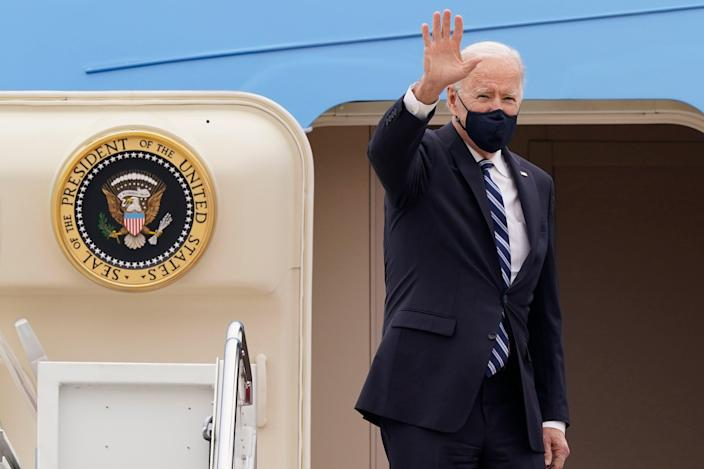 <p>President Biden embarks this week for the G7 conference</p> (AP)