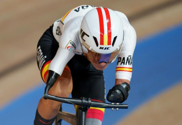 Track cycling is among the medal events on the second day of competition