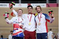 <p>Cyclist Jody Cundy may have missed out on a gold medal but he did just become the first British man to win a medal at seven Paralympic Games after scooping the silver in the C4-5 100m time trial. A huge achievement.</p>