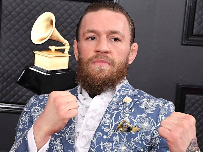 Conor McGregor in January 2020.