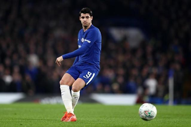 Chelsea striker Alvaro Morata claims he will be fit for West Brom clash despite back injury