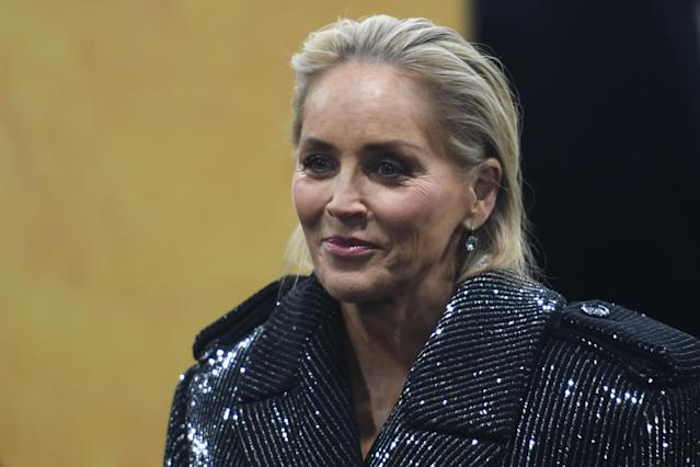 Sharon Stone blocked from dating app Bumble over 'fake profile'