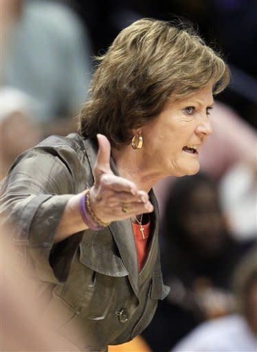 Pat Summitt brought strength and intensity to the sideline. (AP)
