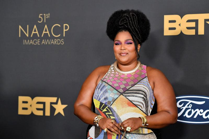 PASADENA, CALIFORNIA - FEBRUARY 22: Lizzo attends the 51st NAACP Image Awards, Presented by BET, at Pasadena Civic Auditorium on February 22, 2020 in Pasadena, California. (Photo by Frazer Harrison/Getty Images)