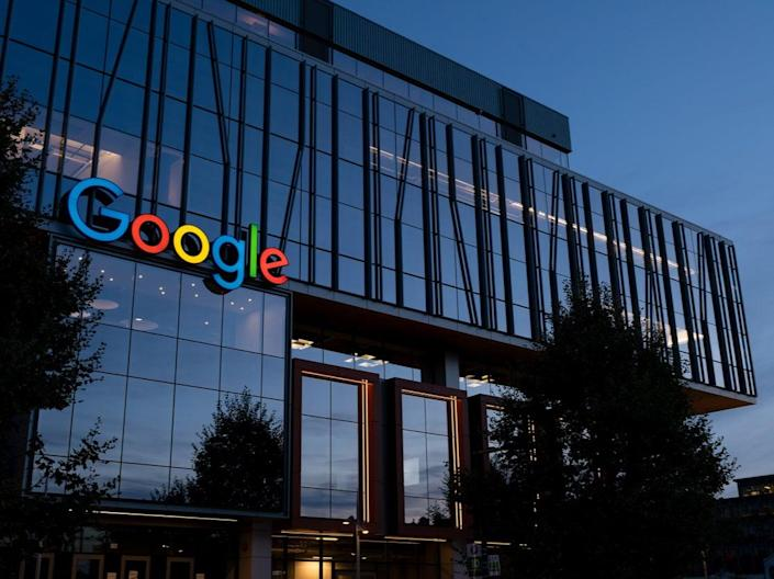 Google's pay-per-click service allows businesses to pay for prominent spots on search results (Getty Images)