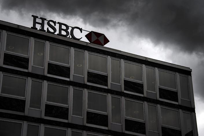 Secret documents published online alleging banking giant HSBC helped wealthy customers dodge millions of dollars in taxes caused global shockwaves (AFP Photo/Fabrice Coffrini)
