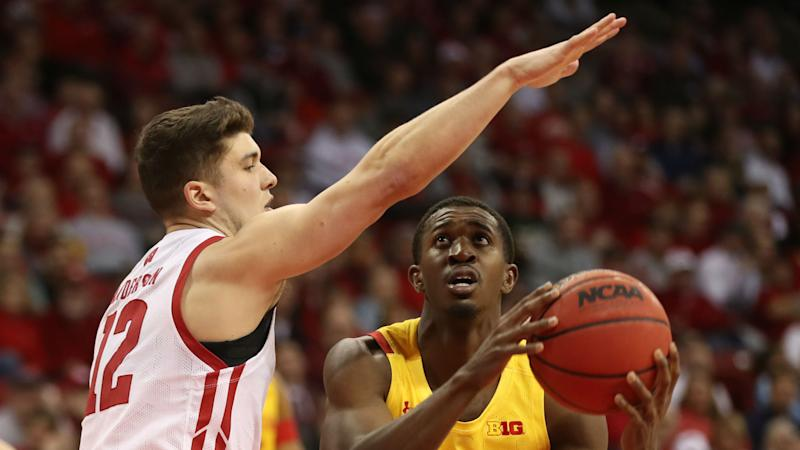 No. 17 Maryland loses to Wisconsin on last minute 3-pointer