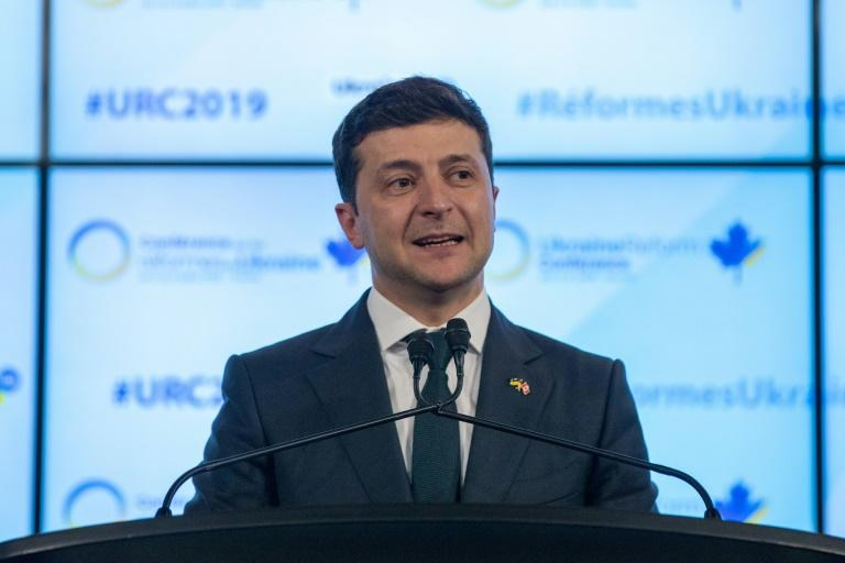 Ukrainian President Volodymyr Zelensky inherited a brutal armed conflict against pro-Russian rebels