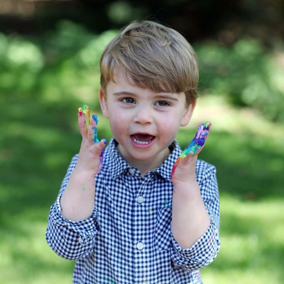 <p>In honor of Prince Louis's second birthday, Kensington Palace released a series of photos of the youngster.</p>