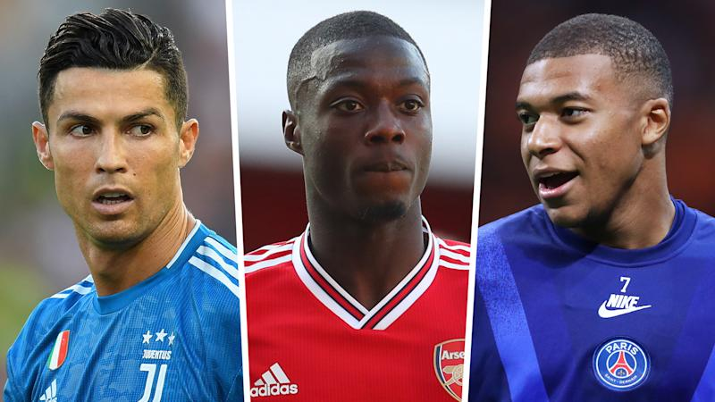 Arsenal star Pepe likened to Ronaldo & Mbappe as he strives to make himself the 'perfect' player