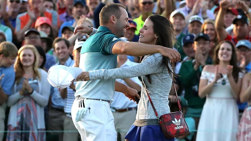 Masters-inspired name for Garcia's baby daughter