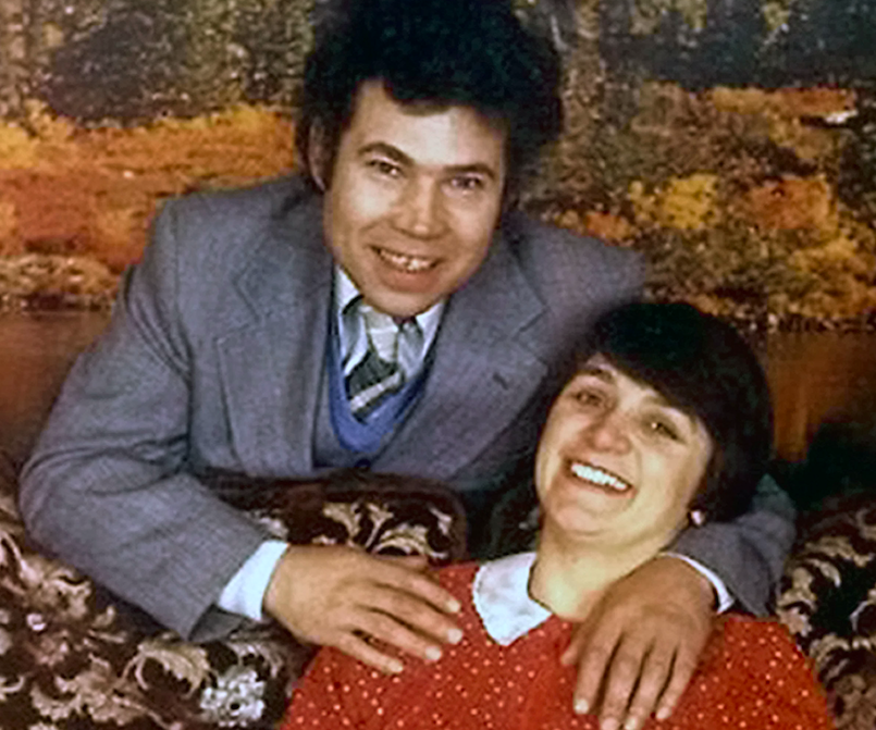 <em>The serial killer couple were arrested after bodies were found at their home (Rex)</em>