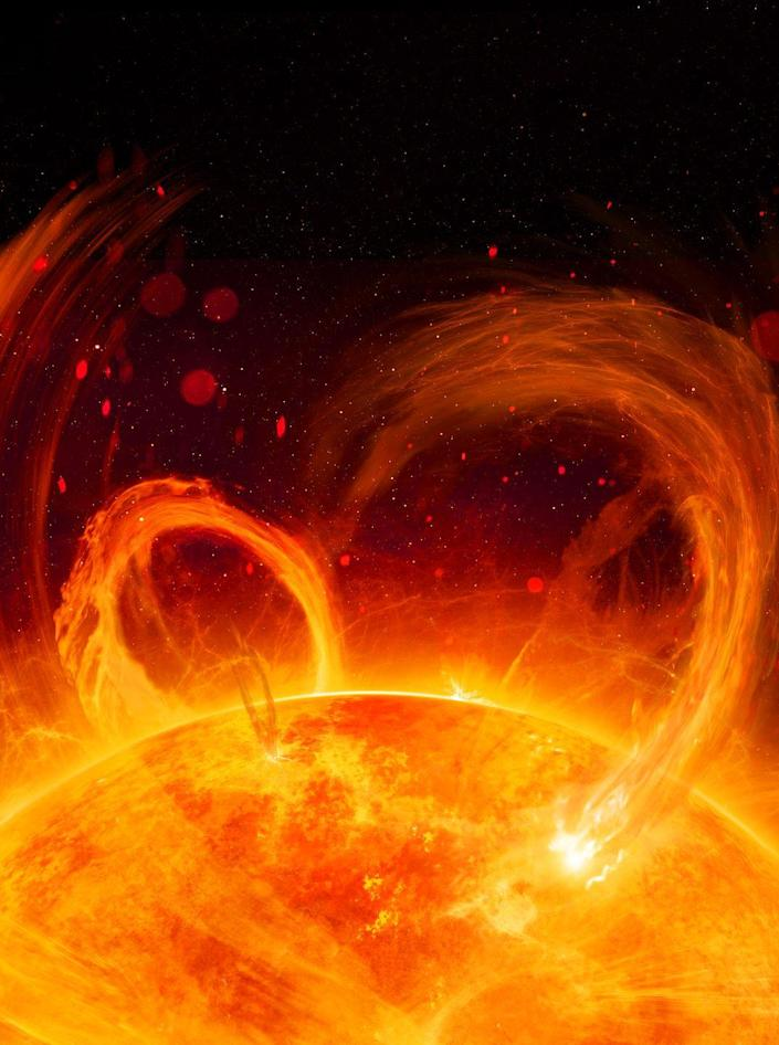 """<p>A <a href=""""https://www.popularmechanics.com/science/a34078024/did-solar-flare-sink-titanic/"""" rel=""""nofollow noopener"""" target=""""_blank"""" data-ylk=""""slk:study recently discovered"""" class=""""link rapid-noclick-resp"""">study recently discovered</a> that the northern hemisphere was experiencing a """"moderate to severe"""" magnetic storm on the night of the ship's collision. Similar solar flares are known to cause power outages on Earth and could have affected the ship's radar and radio rescue signals. </p>"""