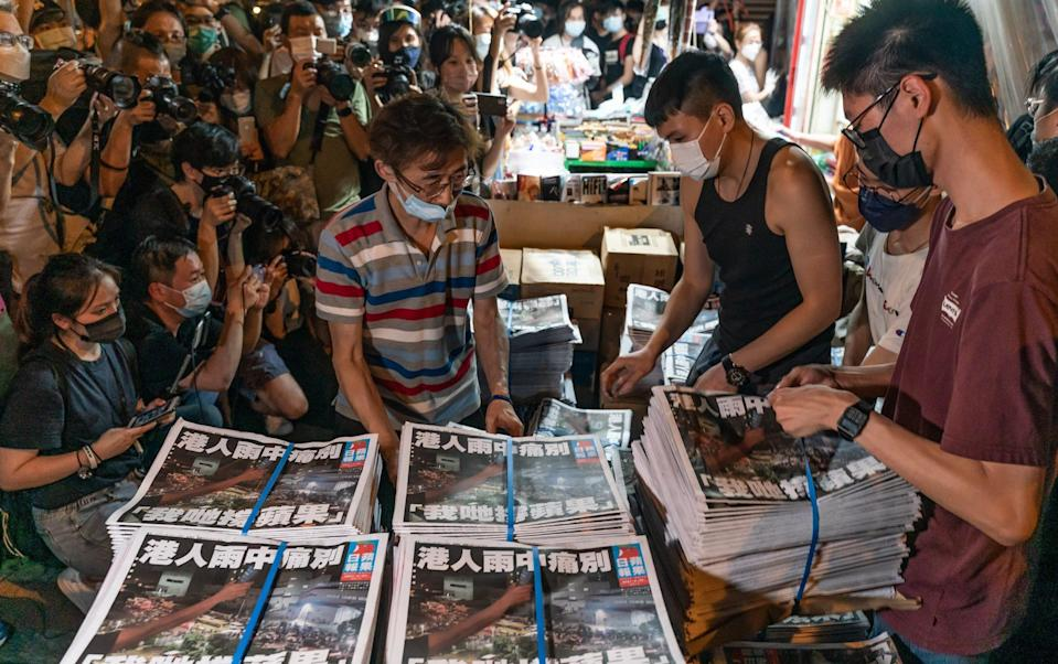 The final issue was delivered to stands on Thursday morning - GETTY IMAGES