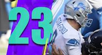 <p>After the Lions beat the Packers and won a road game against the Dolphins, they were 3-3. They had won three of four. Since then they've been outscored 86-45. (Matthew Stafford) </p>