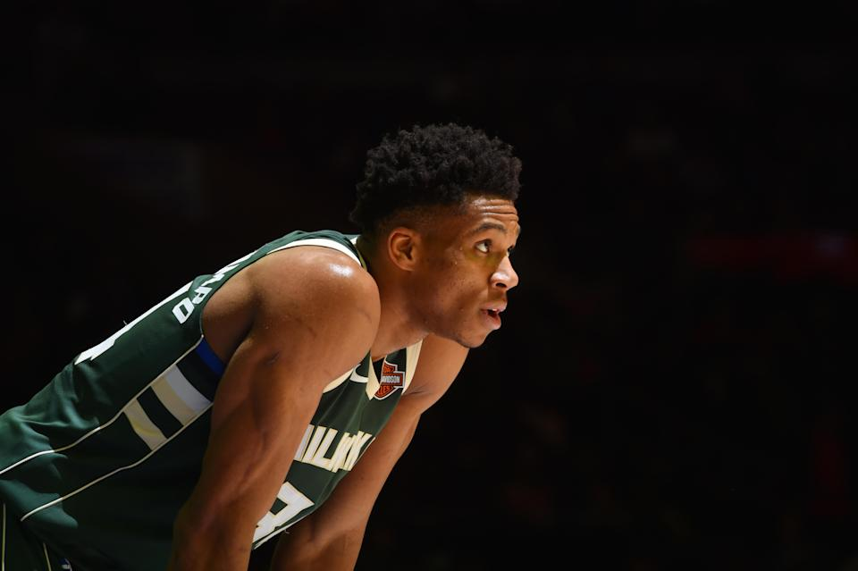 There aren't many players who can change the complexion of a playoff series all by themselves. Giannis Antetokounmpo, though, is one of them. (Getty)
