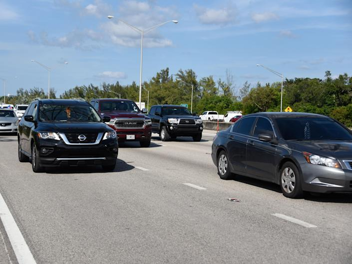 <p>Cars on Interstate 95 in Florida</p> (Michele Eve Sandberg/Shutterstock)
