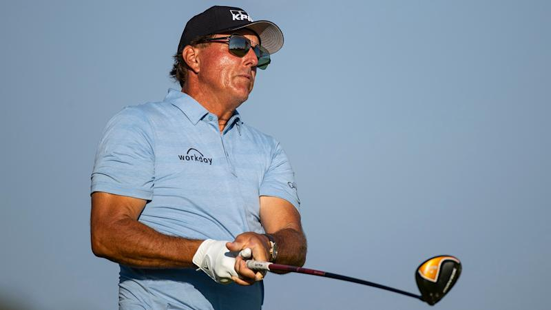 Watch: Phil Mickelson makes birdie after going driver off the … pine straw(?!)