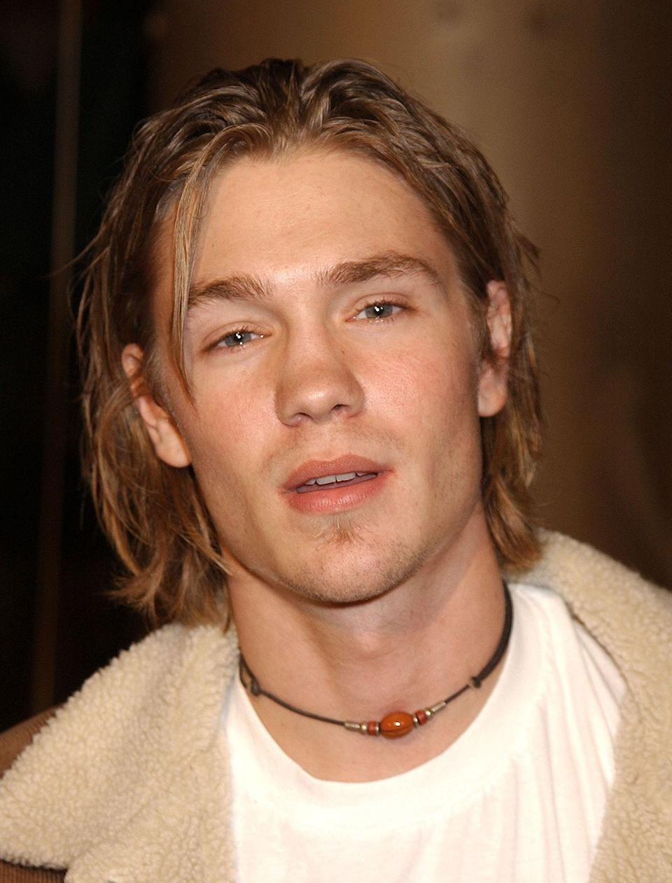 <p>Audiences were introduced to Chad Michael Murray—and his chin length locks—in his first major film, <em>Freaky Friday</em>. But the long hair didn't last and Murray appeared in his next film with a much shorter 'do.  </p>