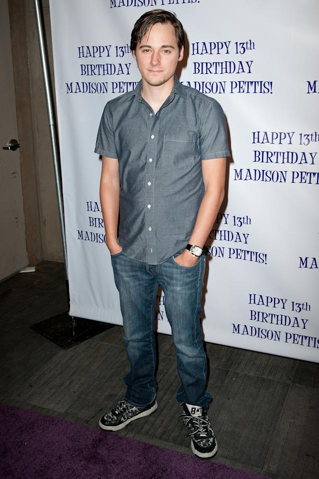 HOLLYWOOD, CA - JULY 31: Actor Jake Thomas arrives at the Madison Pettis's 13th birthday party at Eden on July 31, 2011 in Hollywood, California.  (Photo by Allen Berezovsky/WireImage)