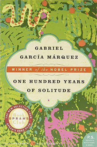 """<p><strong>Gabriel Garcia Marquez</strong></p><p>amazon.com</p><p><strong>$11.89</strong></p><p><a href=""""https://www.amazon.com/dp/0060883286?tag=syn-yahoo-20&ascsubtag=%5Bartid%7C10055.g.35904358%5Bsrc%7Cyahoo-us"""" rel=""""nofollow noopener"""" target=""""_blank"""" data-ylk=""""slk:Shop Now"""" class=""""link rapid-noclick-resp"""">Shop Now</a></p><p>Winner of the Nobel Prize in Literature, this expansive work follows the rise and fall of the fictional Macondo. Alive with vibrant characters, the tragedies and triumphs of human life and everything that comes with it, this is a must-read. </p>"""