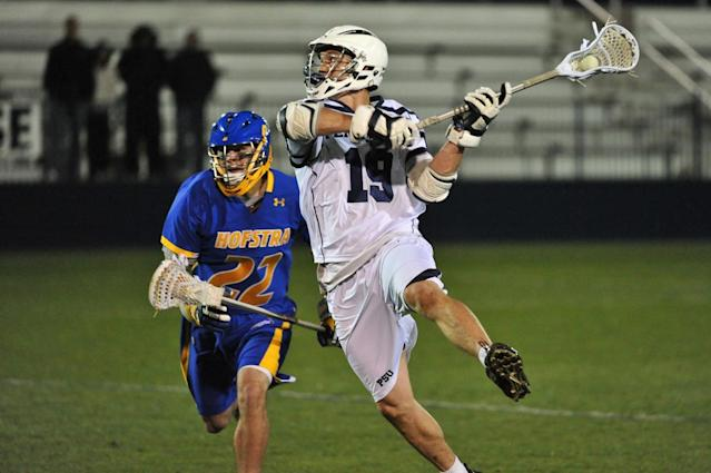 Patriots WR Chris Hogan was an all-conference lacrosse player at Penn State. (Penn State)