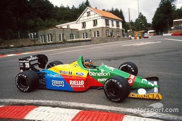 "1988 - Benetton <span class=""copyright"">Sutton Motorsport Images</span>"