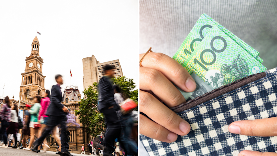 The new minimum wage is $20.33 an hour. (Images: Getty).