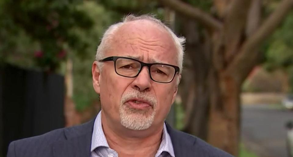 Professor Tony Blakely believes NSW's cases could begin to plateau soon. Source: ABC