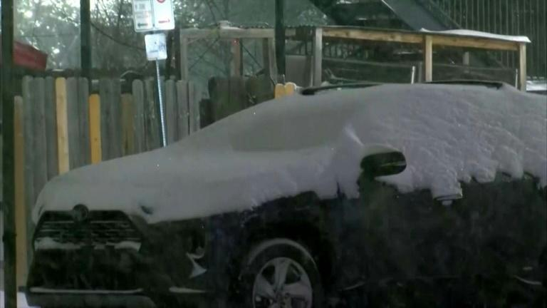 A winter storm system grips much of the United States, bringing snow and ice to the southern state of Texas and bitter-low temperatures from coast to coast