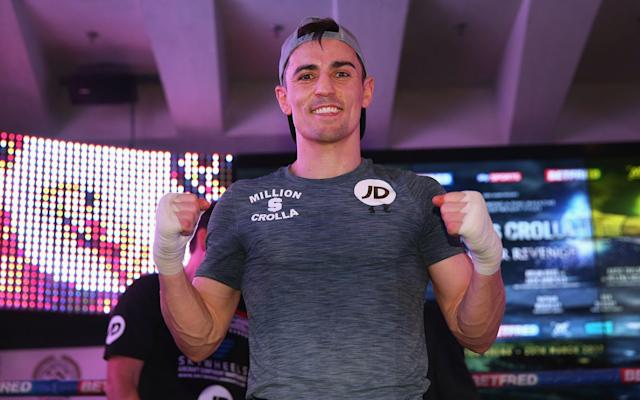 <span>Crolla is looking to avenge his defeat in September</span> <span>Credit: getty images </span>