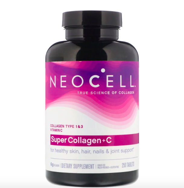 Neocell, Super Collagen + C, 250 Tablets, S$30.29. PHOTO: iHerb